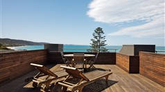 Rooftop Terrace of a Penthouse Apartment at Cumberland Lorne Resort