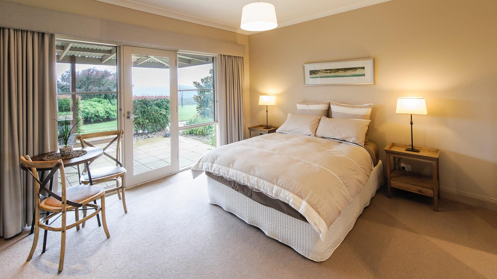 Beaumont Lodge bedroom