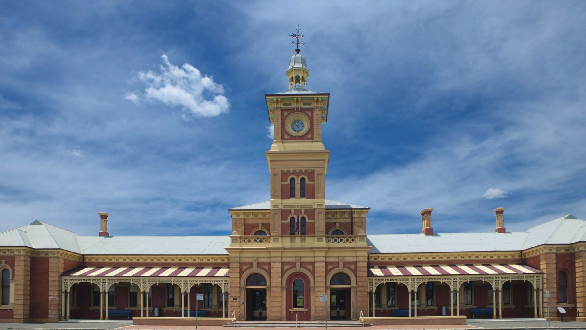 Albury Railway Station