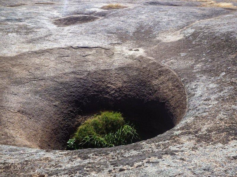 Blowhole at Tocumwal