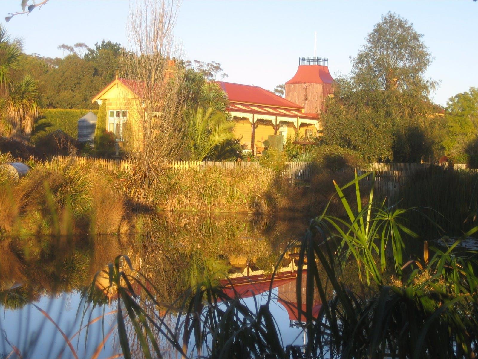 Main homestead and dam