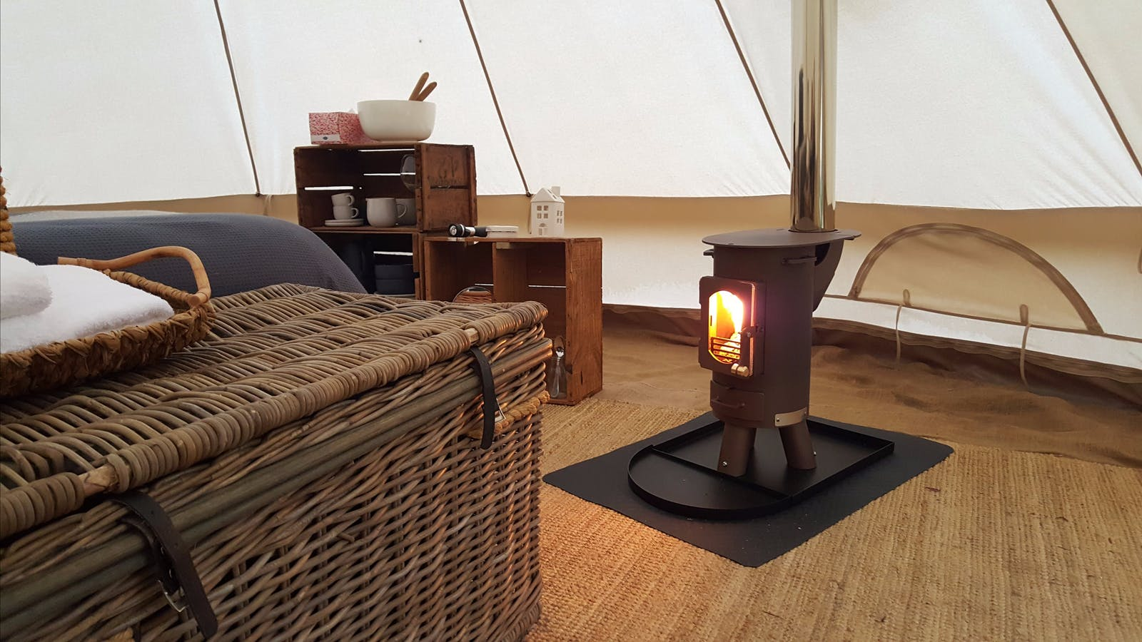 Cosy Tents Camp Stove