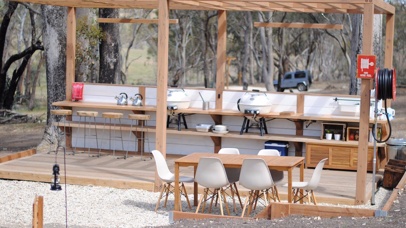Cosy Tents - Barbecue Area