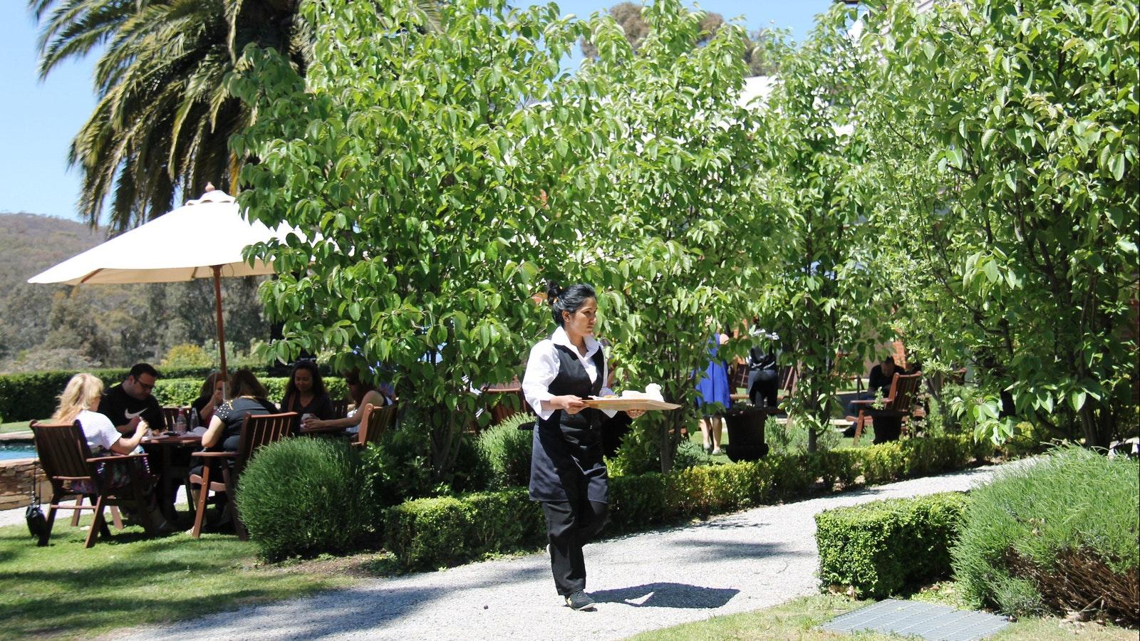 Tastings outdoor dining