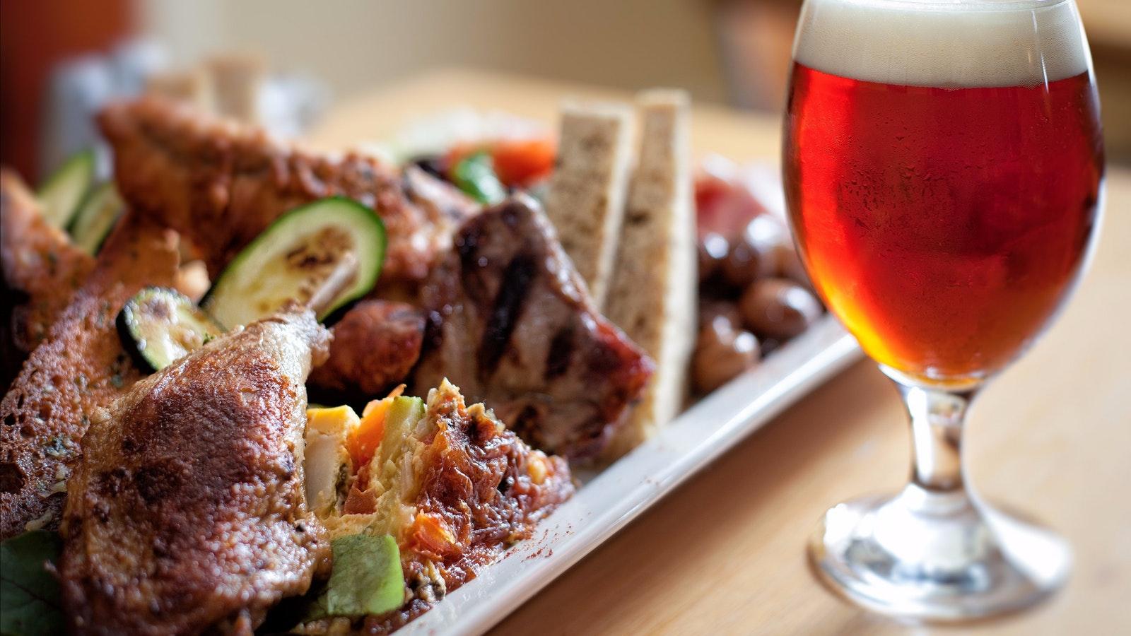 Holgate's beer and food pairing