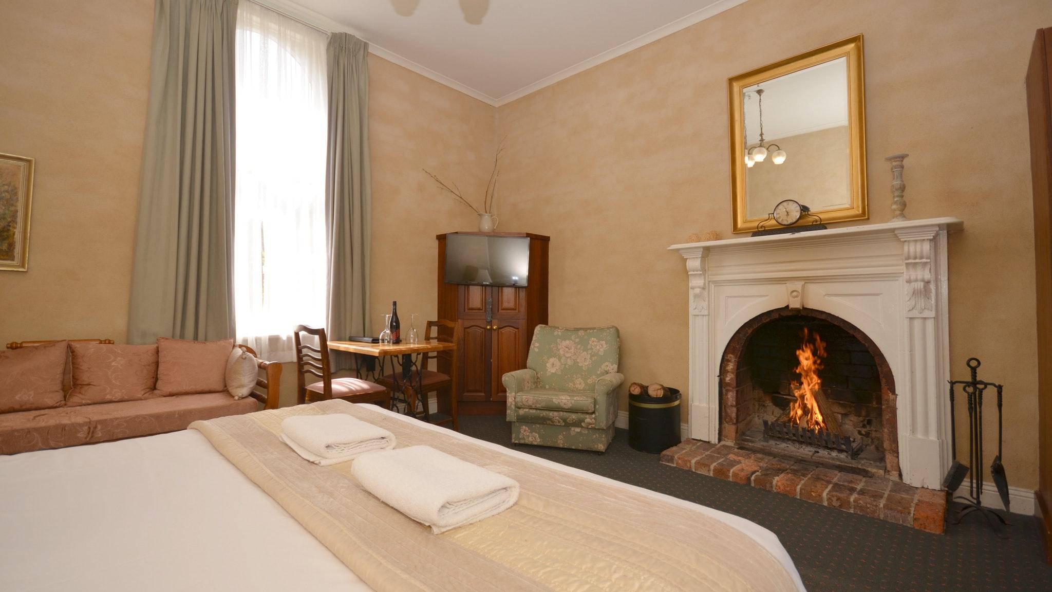King Fireplace Room