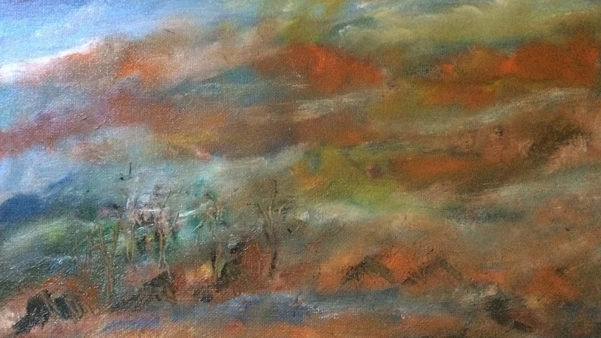 Sunrise Flinders Ranges, Margaret Morgan Watkins