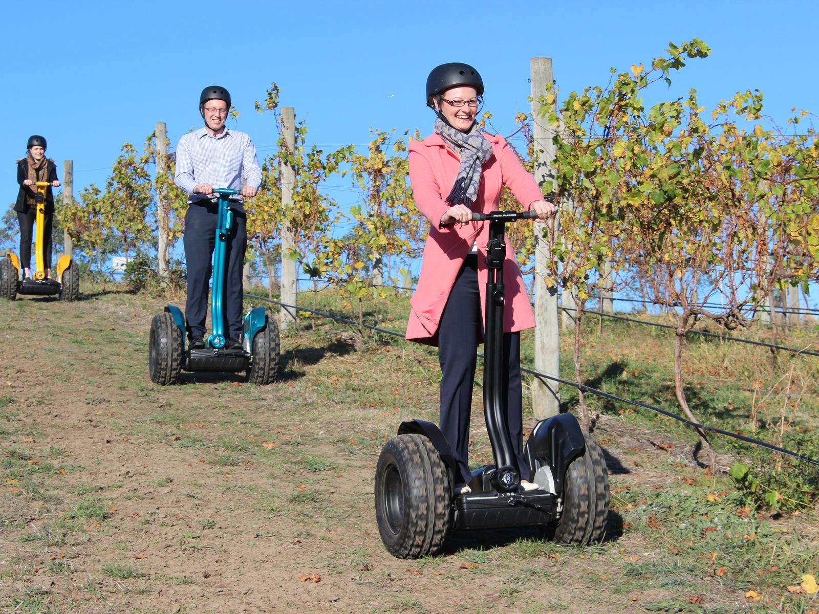 Vineyard Segway Tour at Cleveland Winery, Macedon Ranges