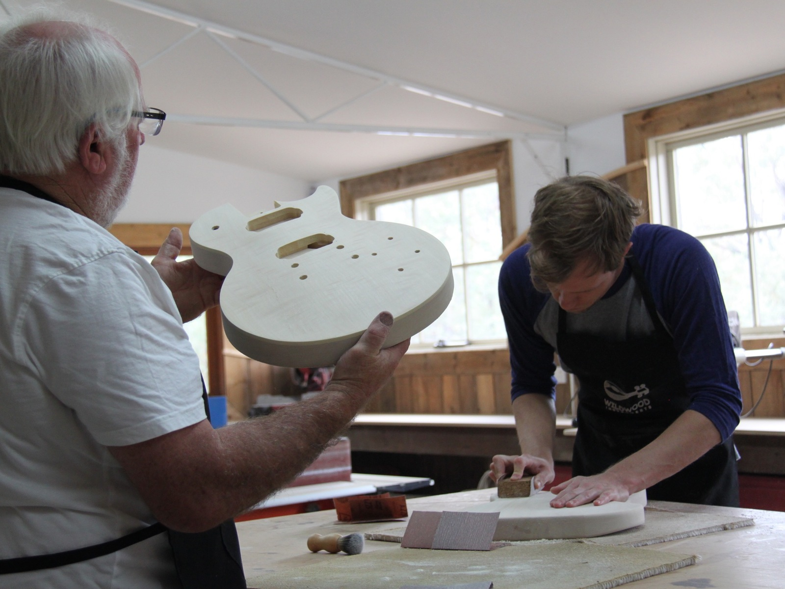 Wildwood Instruments - Electric Guitar Making Course