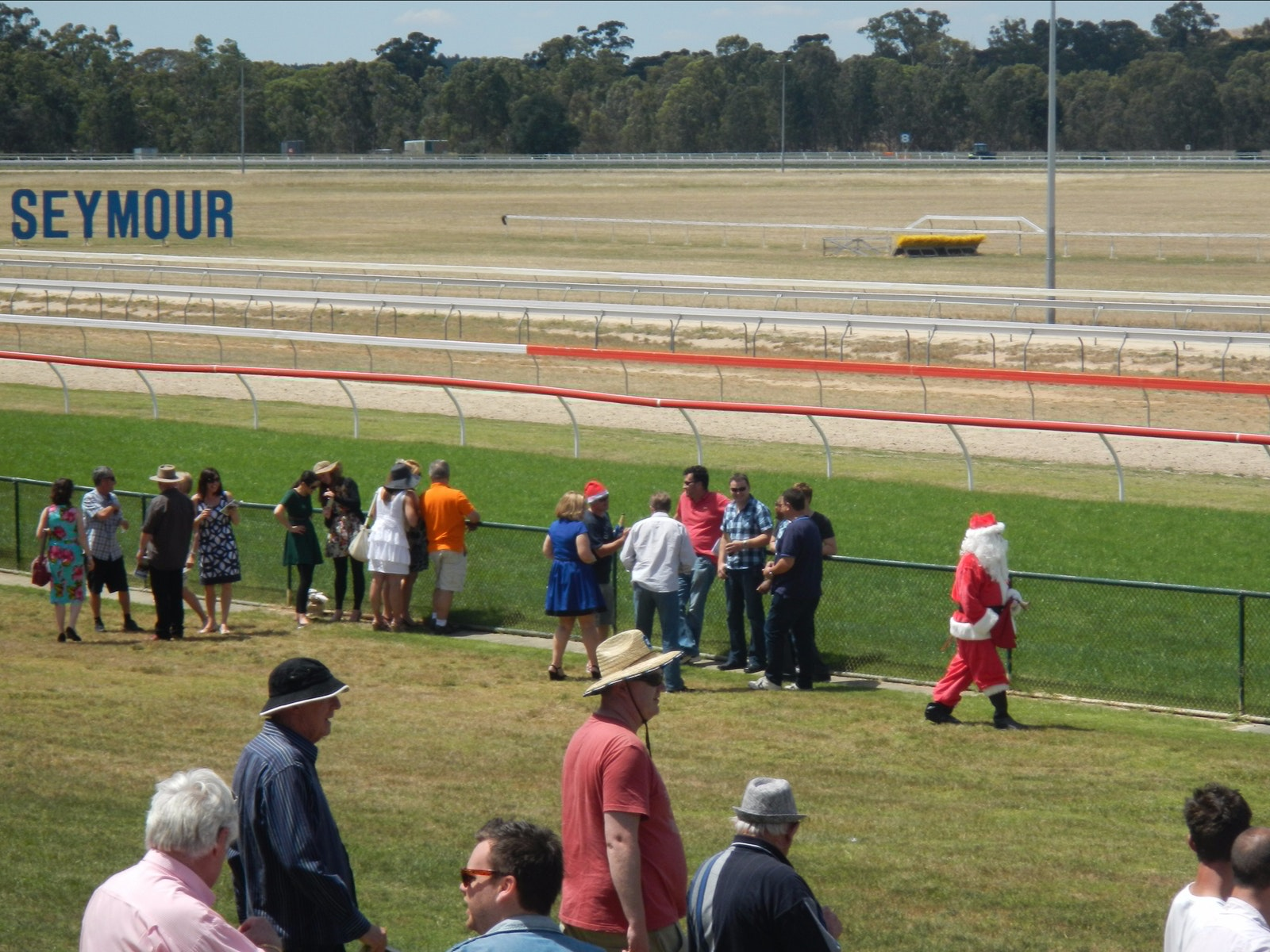 Santa at the Races