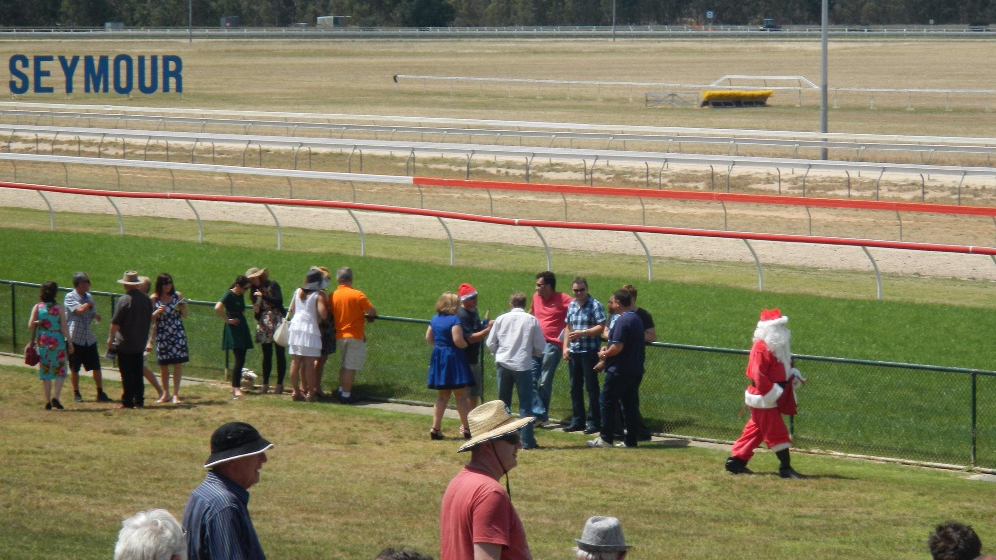 Santa at the Races