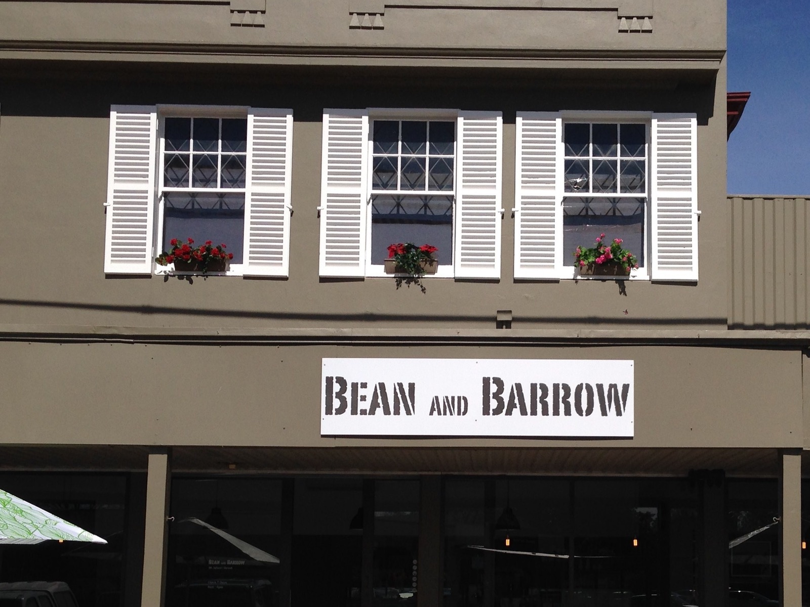 Bean and Barrow