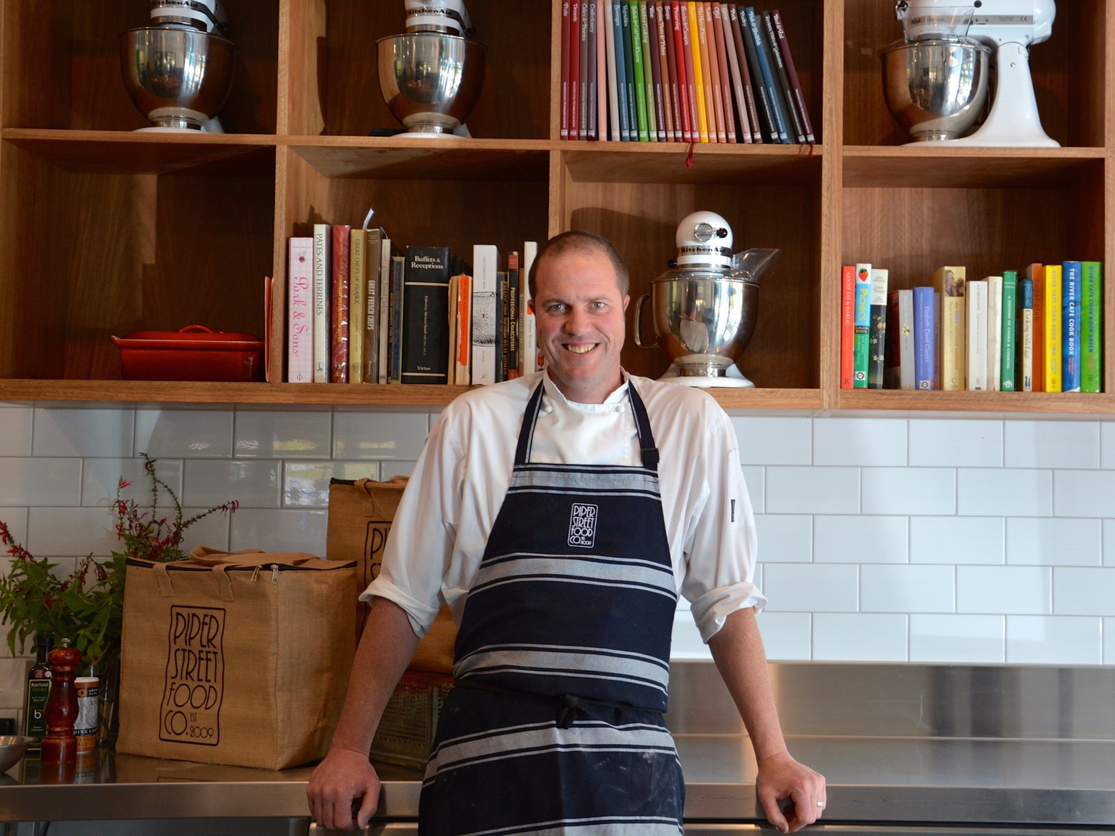 Head Chef and Owner - Damian Sandercock