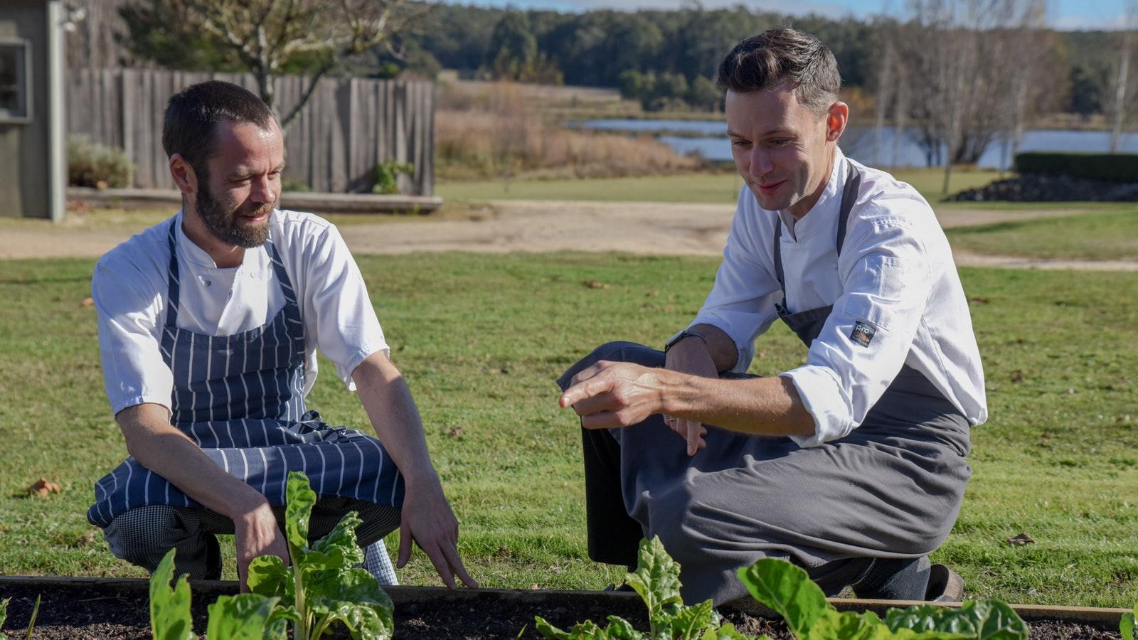 Sault Restaurant chefs