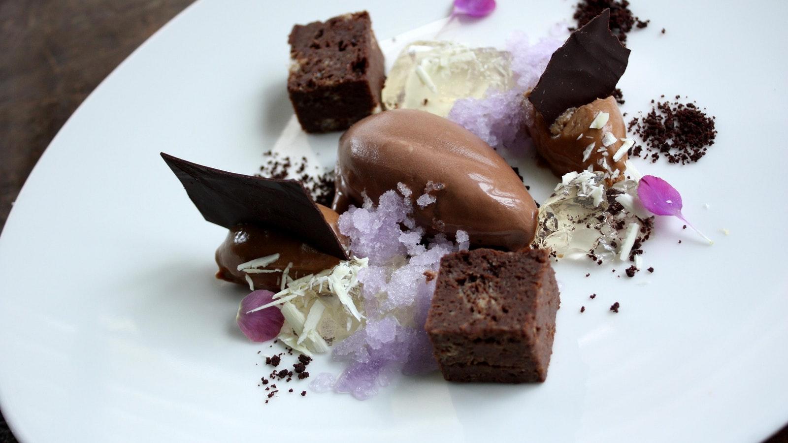 Violet Dessert