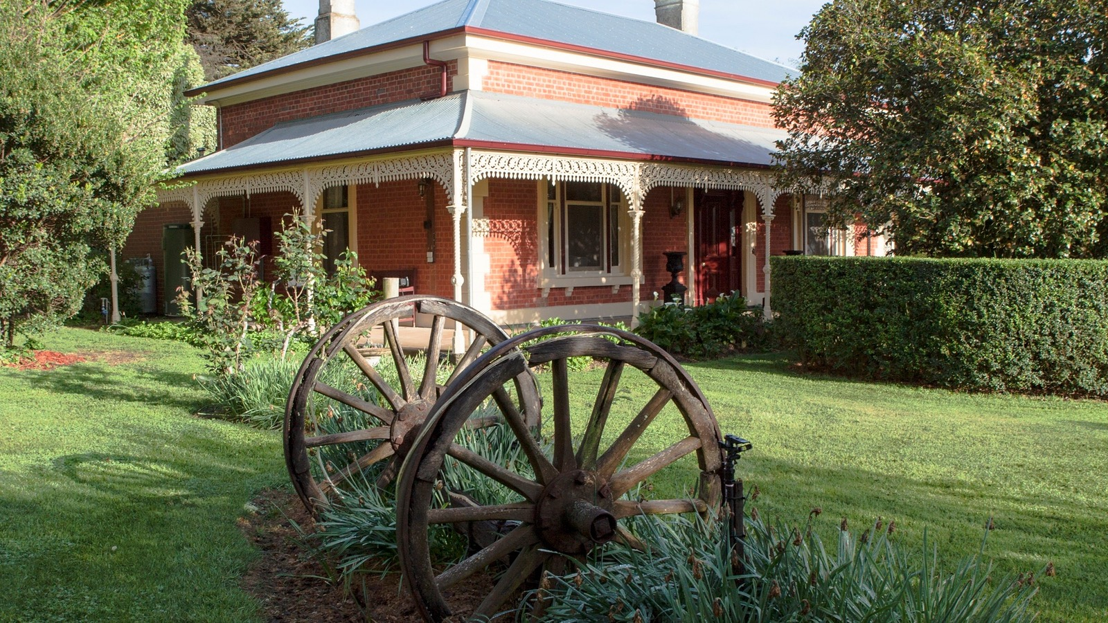The Parkside homestead built in 1890's