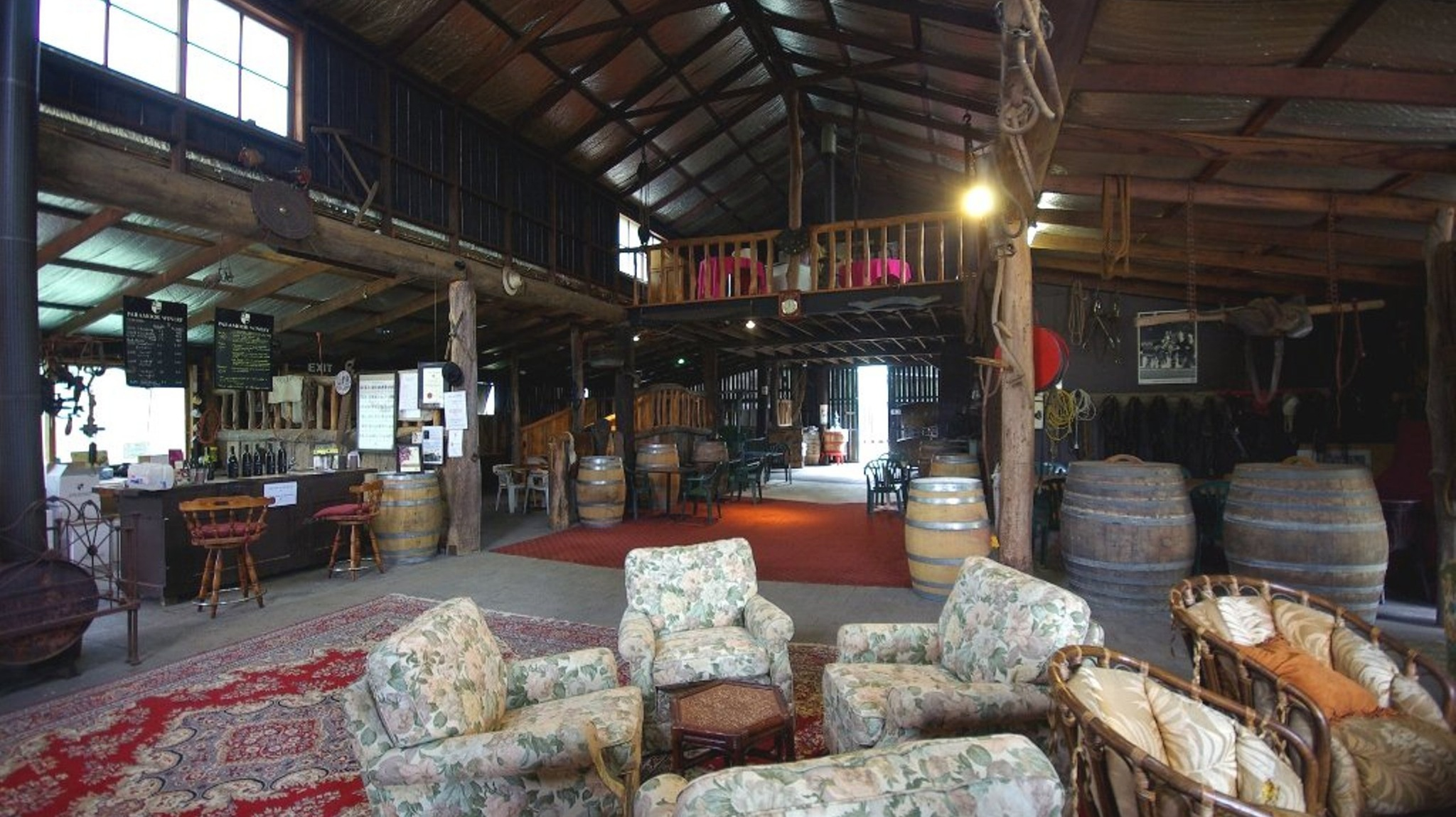 Unwind at the cellar door