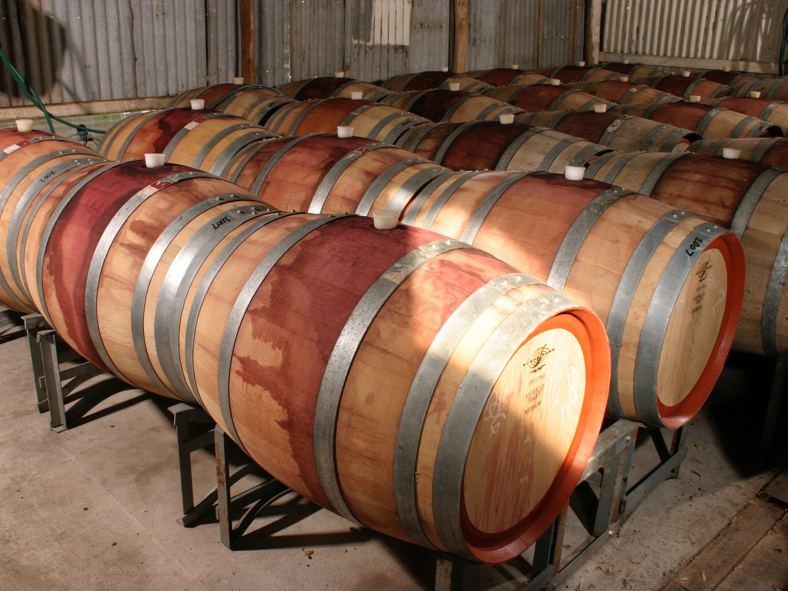 Barrel Shed