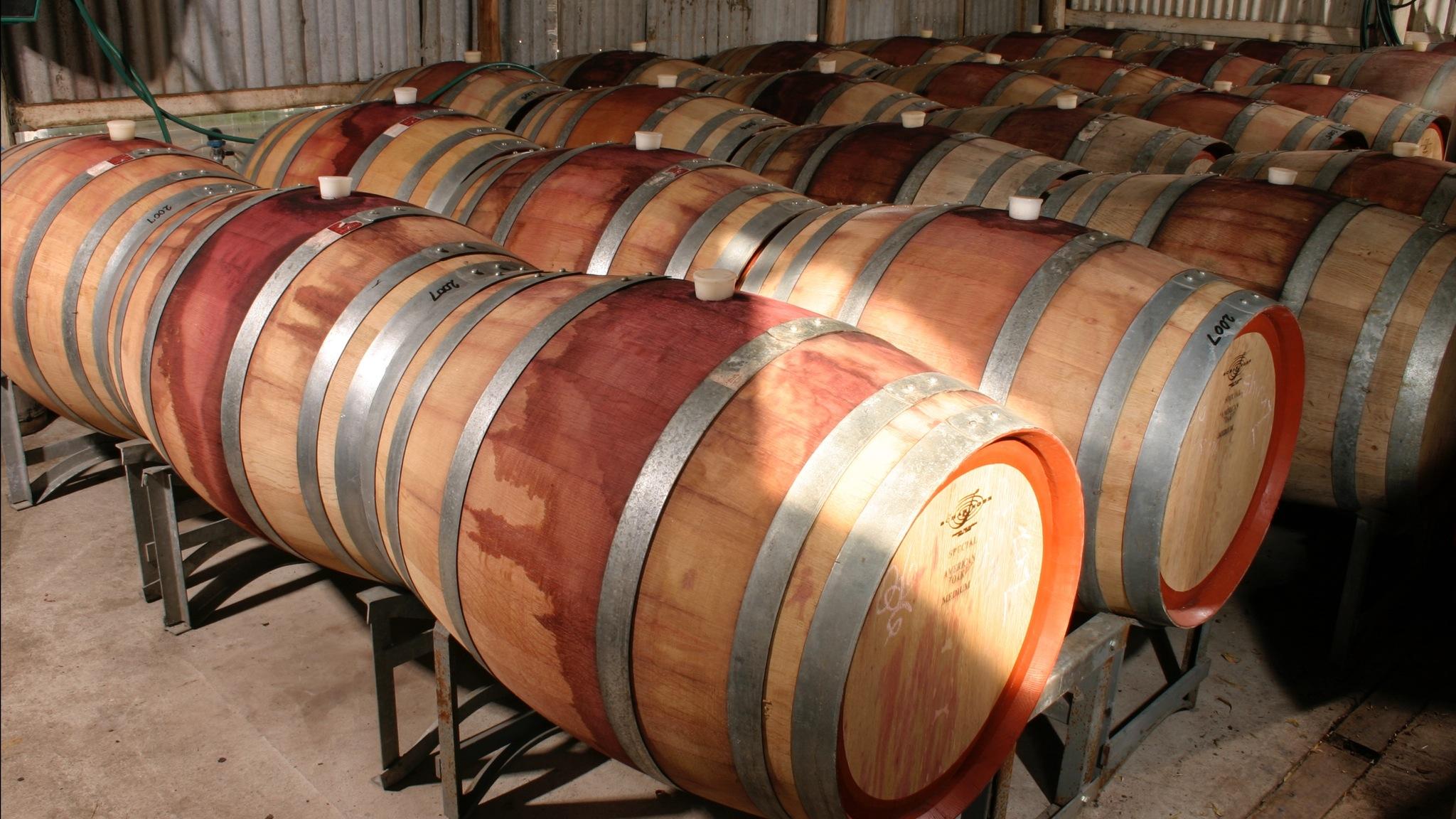 Barrel Shed