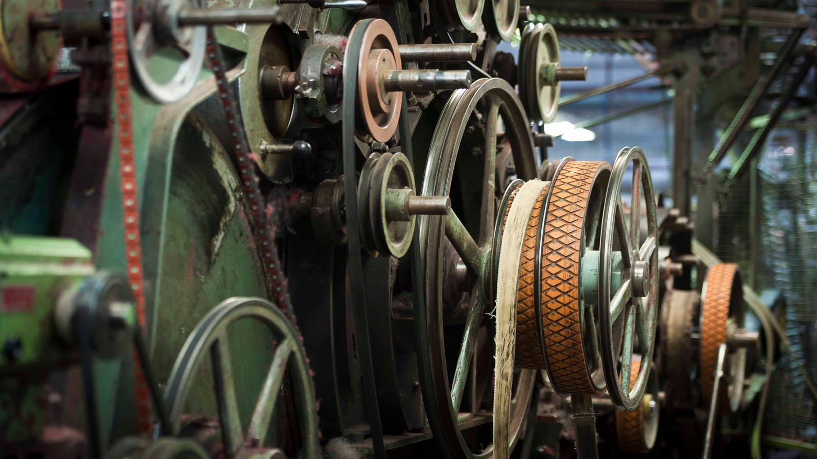 View the last coloured spinning mill