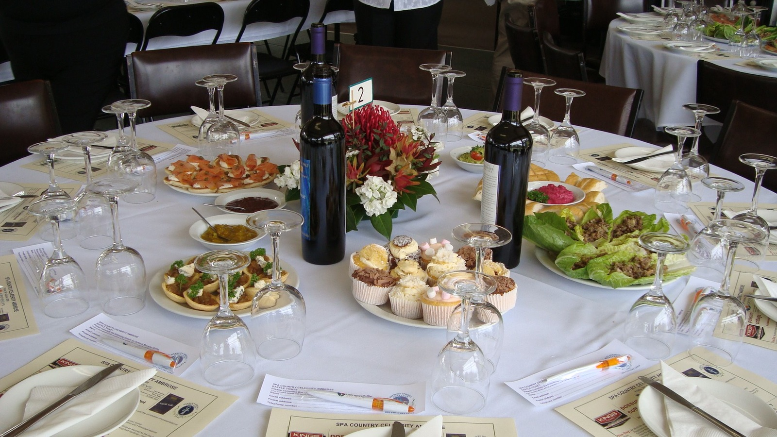 Spa Ambrose Catering