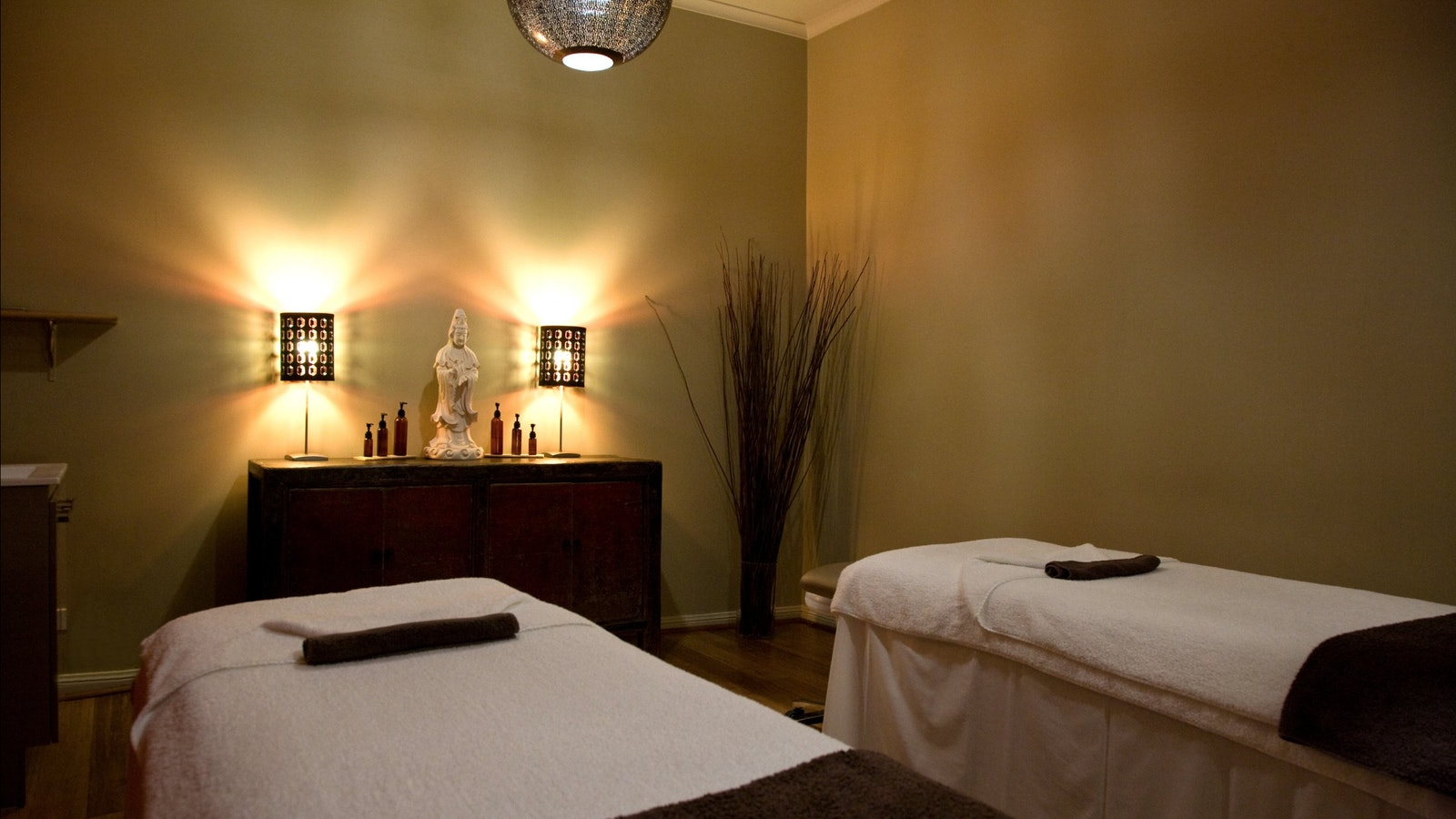 One of our gorgeous treatment rooms