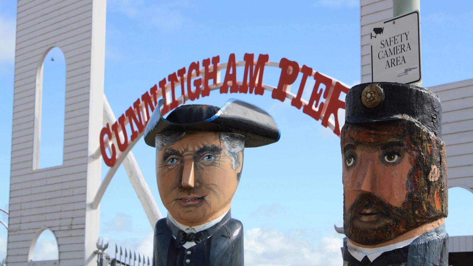 Bollards, Cunningham Pier, Geelong