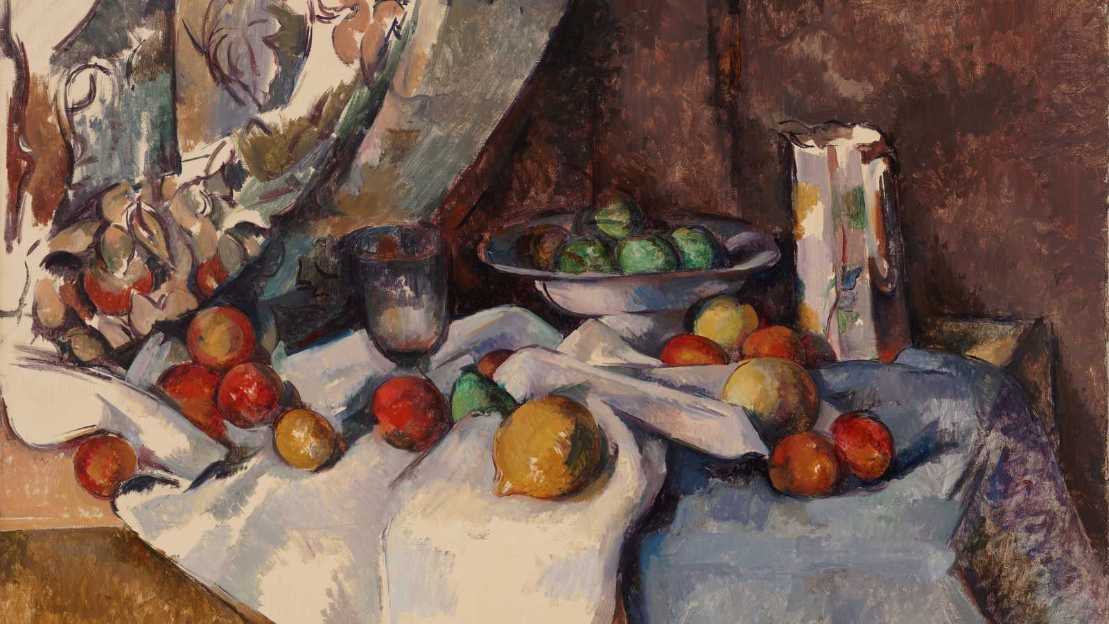Still Life with Apples, 1895-98