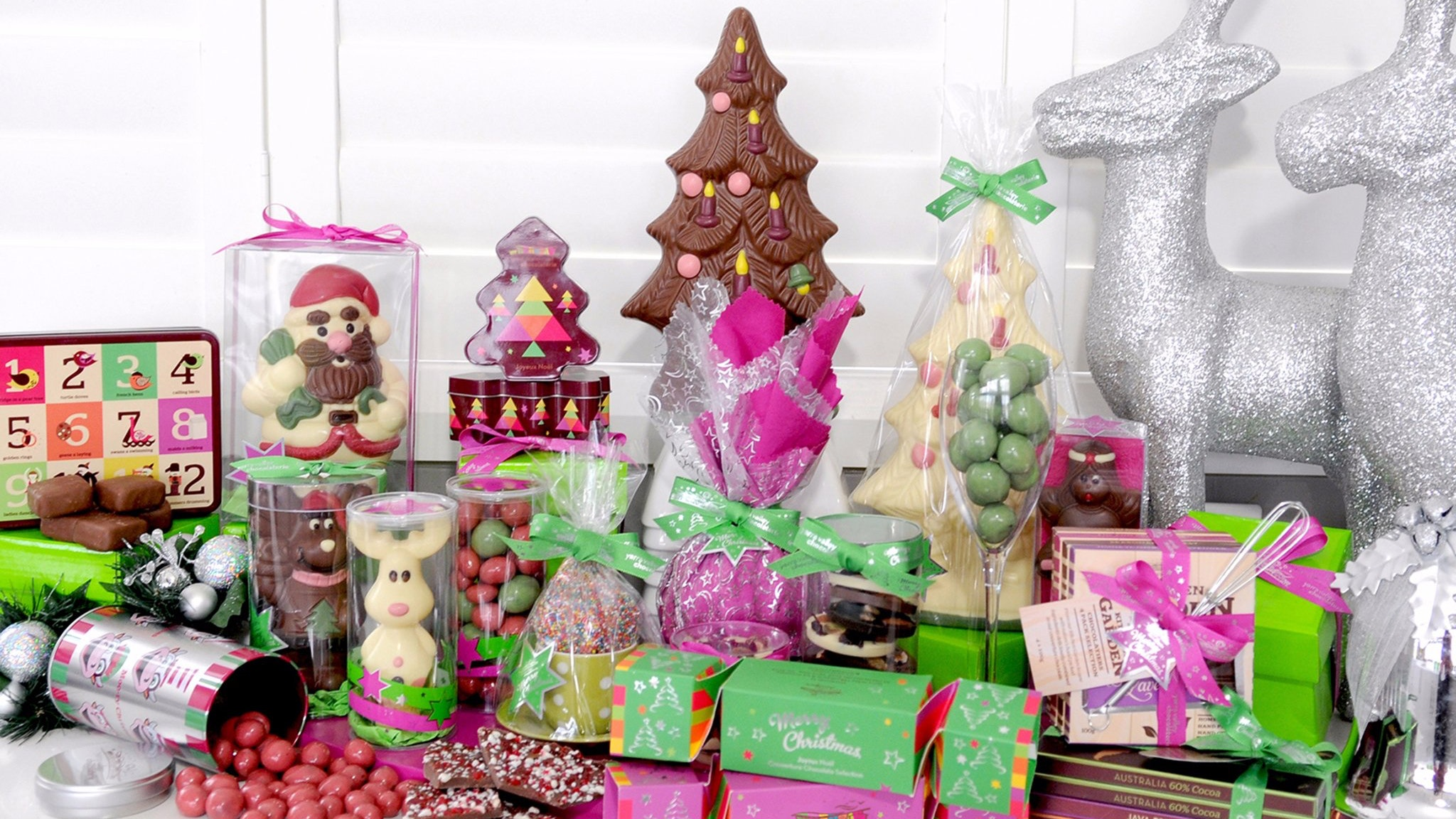Christmas Chocolate Range