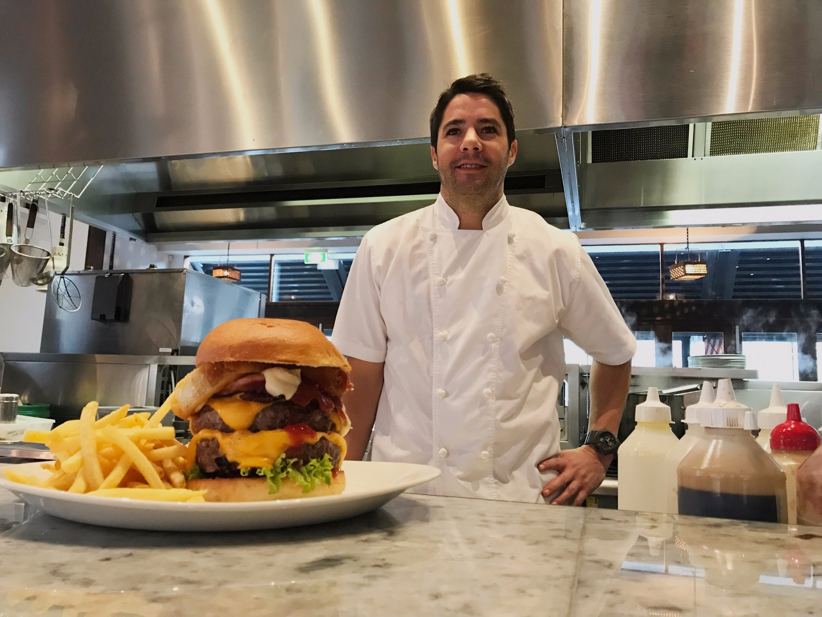 Beef up your burger with Simon Moss