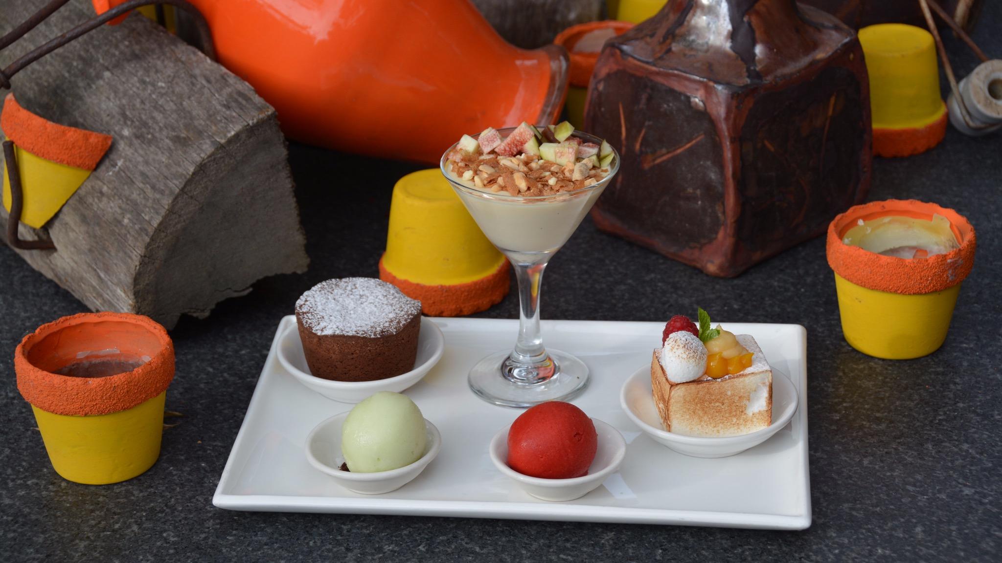 Free Dessert Platter for two at Oakdene