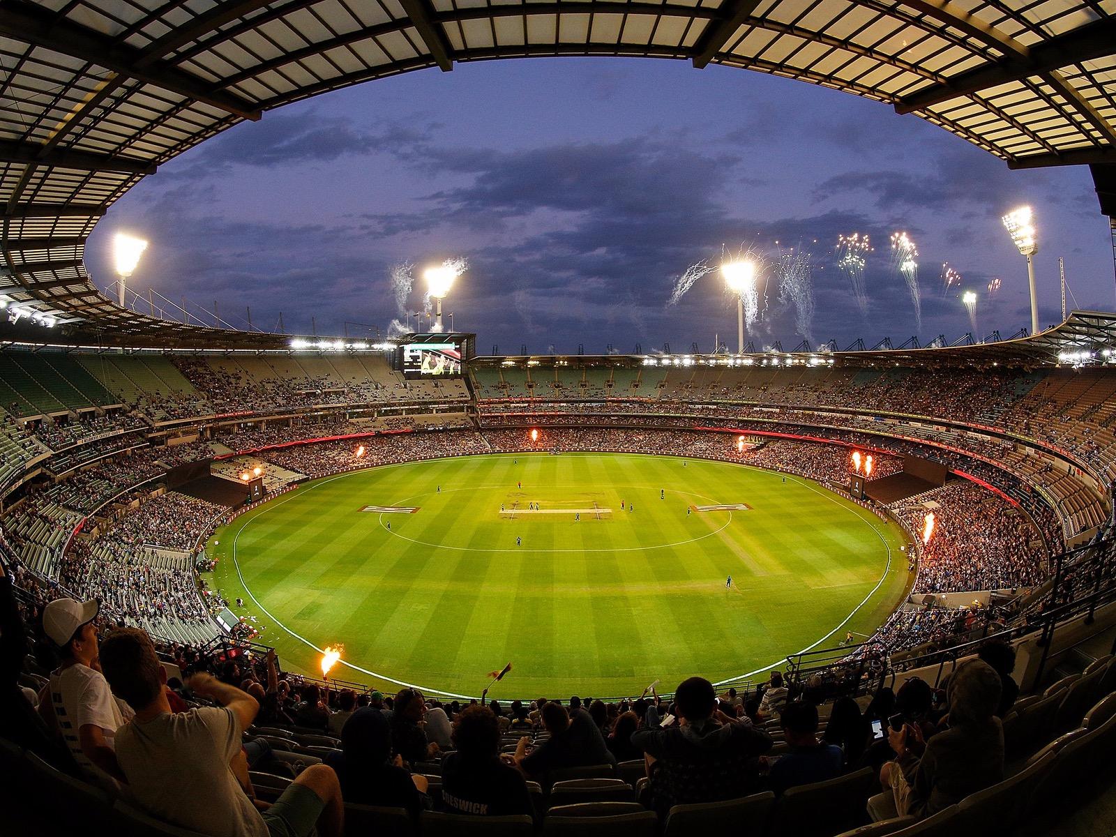 KFC T20 INTL vs Sri Lanka, Feb 2017 at the MCG. Photo: Daniel Pockett/Getty Images