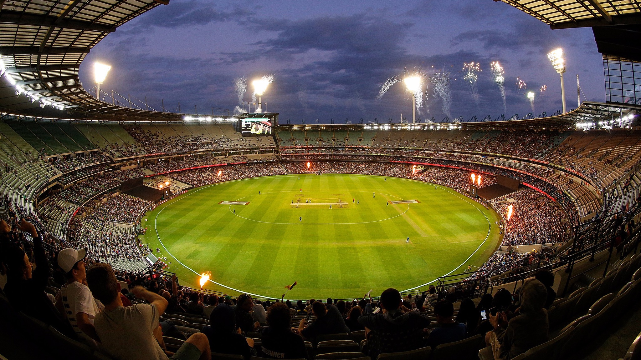 KFC T20 INTL vs Sri Lanka, Feb 2017 at the MCG. Photo: Daniel Pockett/Getty Images
