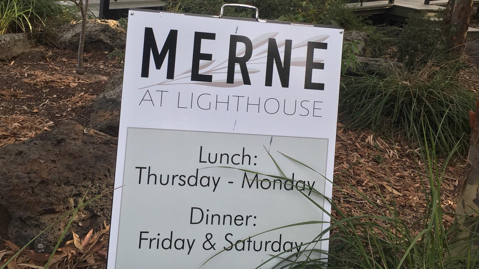Merne at Lighthouse