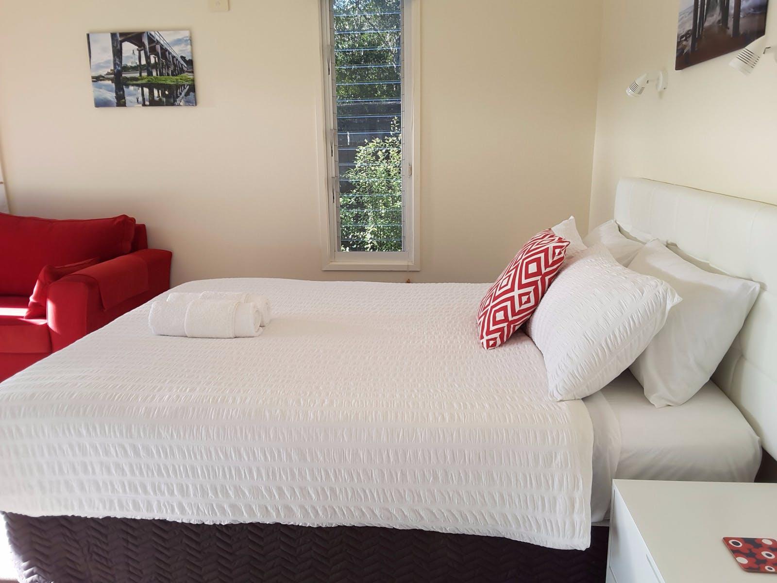 Pillow top bed