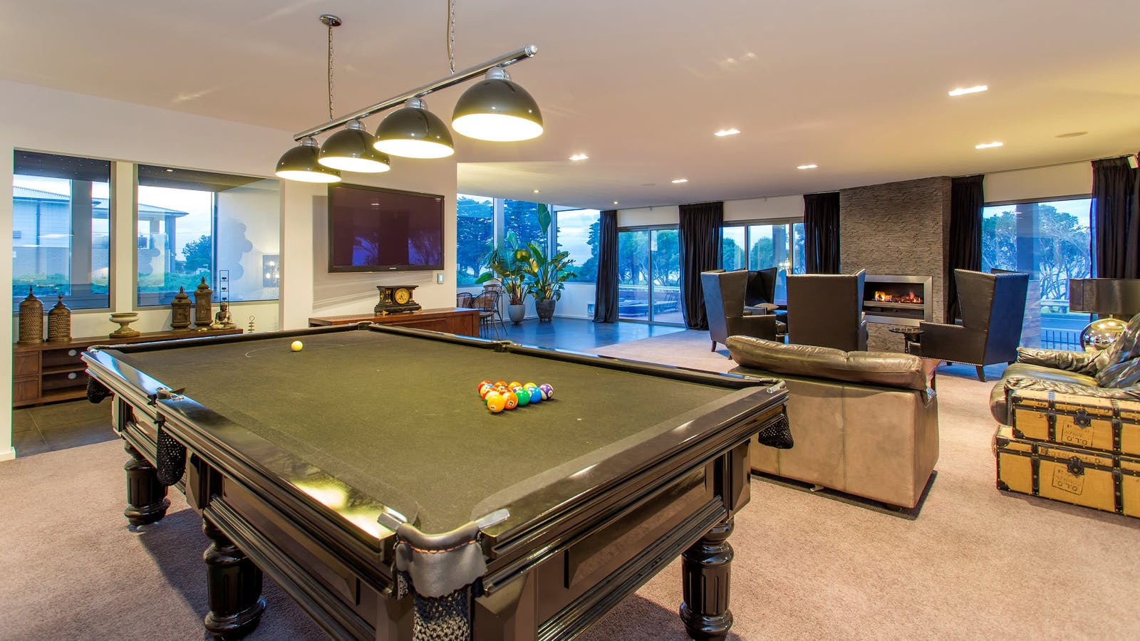 Billiard and Games Room