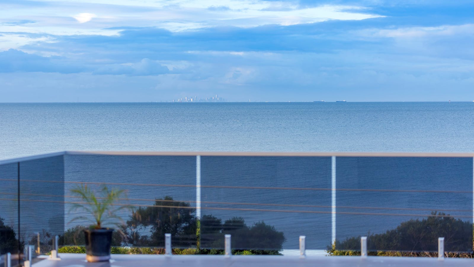 View from sun terrace at Starhaven Retreat