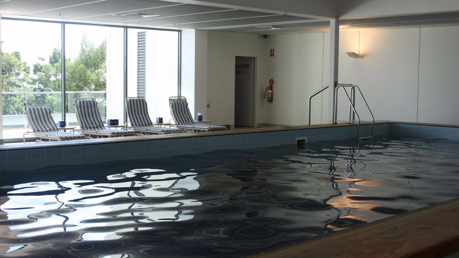 Swimming Pool at Waterfront Apartments