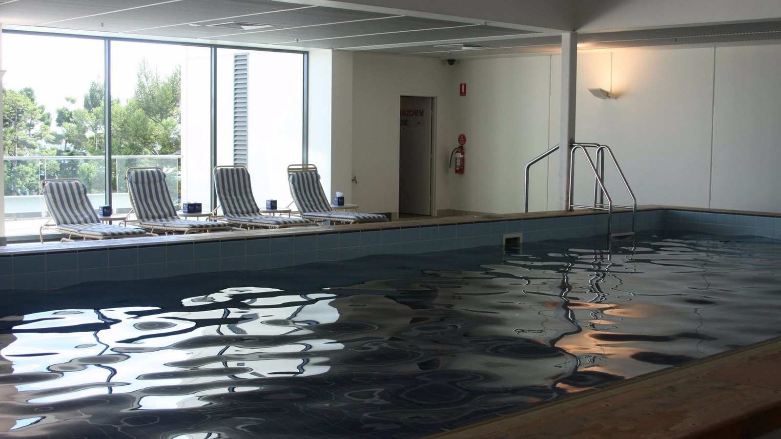 Swimming Pool at Waterfront Apartments