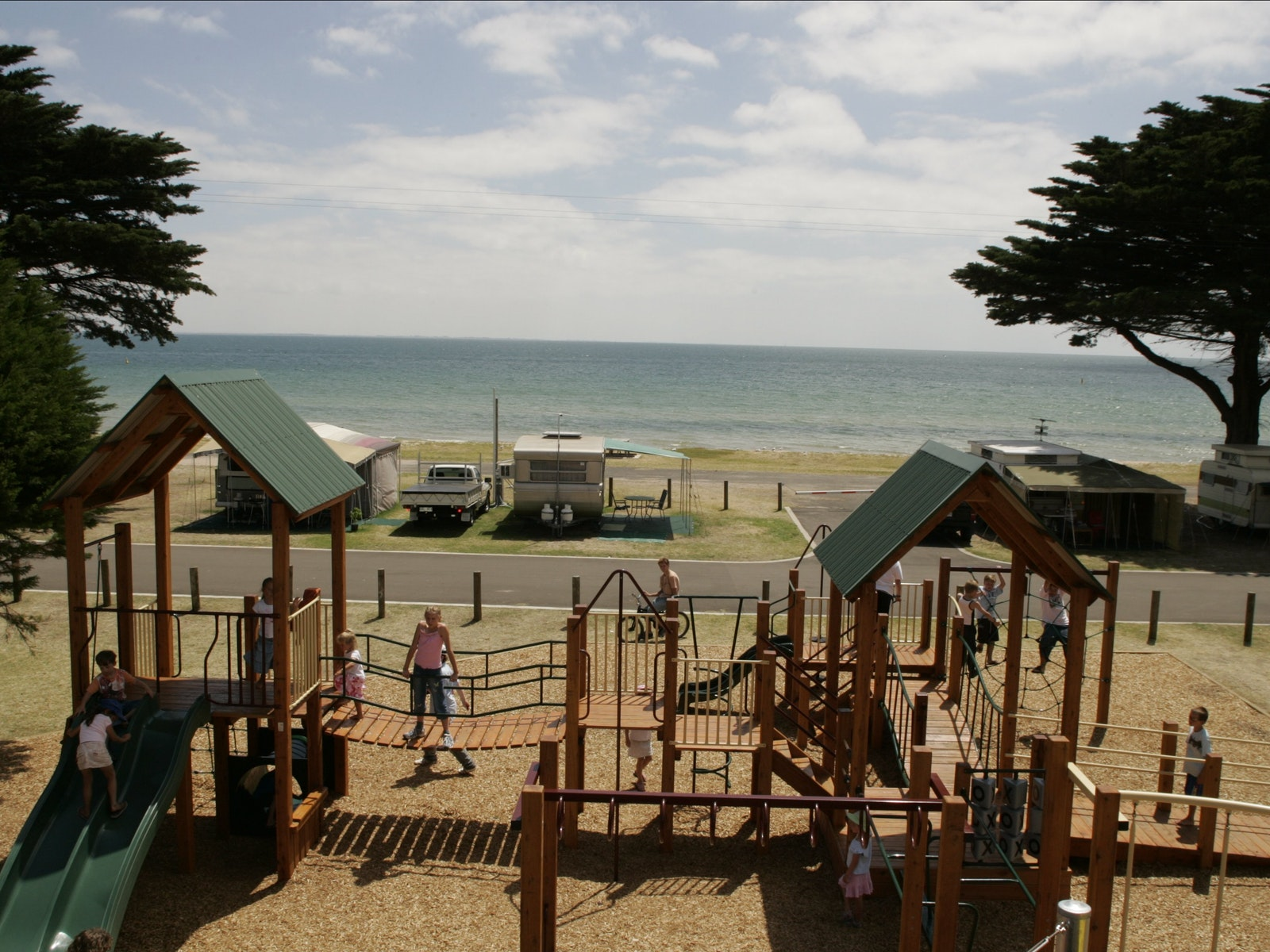 Kids Playground at Portarlington Holiday Park