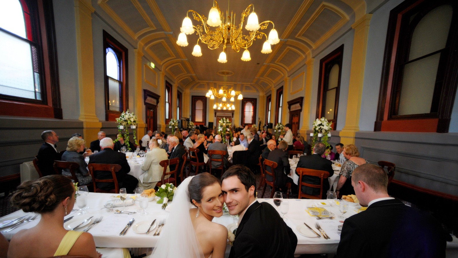 Wedding in Grand Dining Room