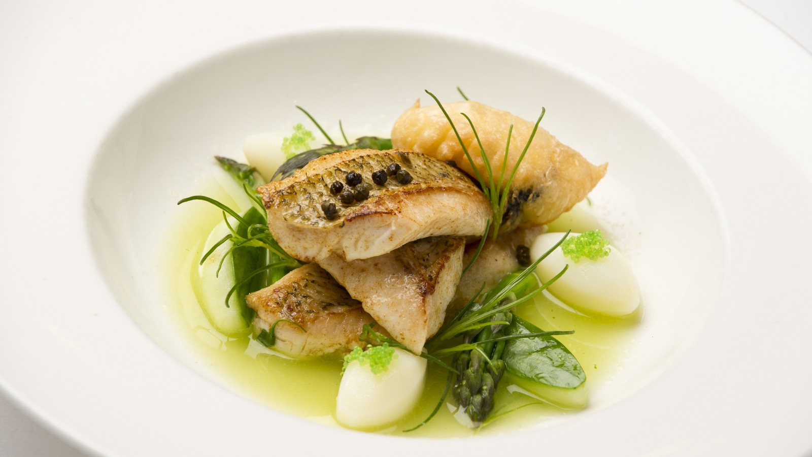 Try the bream from our new menu!