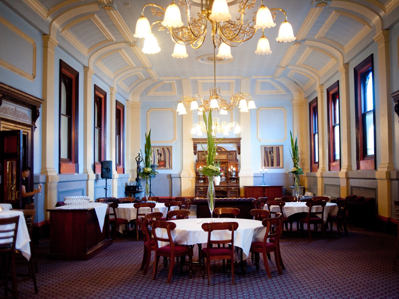 the magestic Grand Dining Room