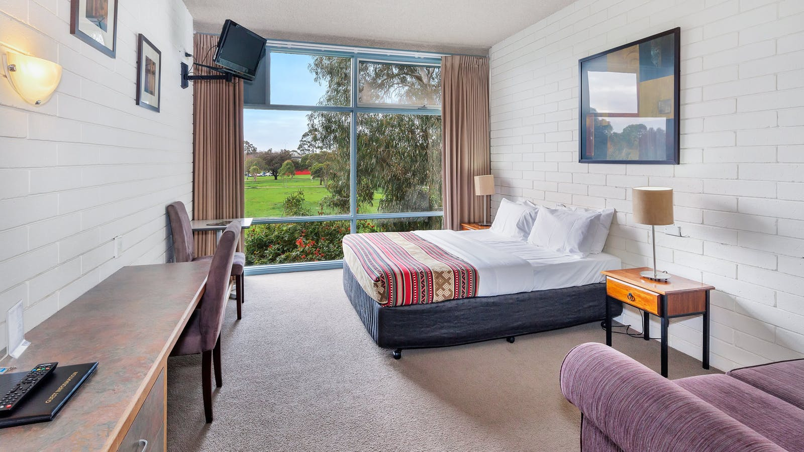Parkside Motel Geelong Queen Room
