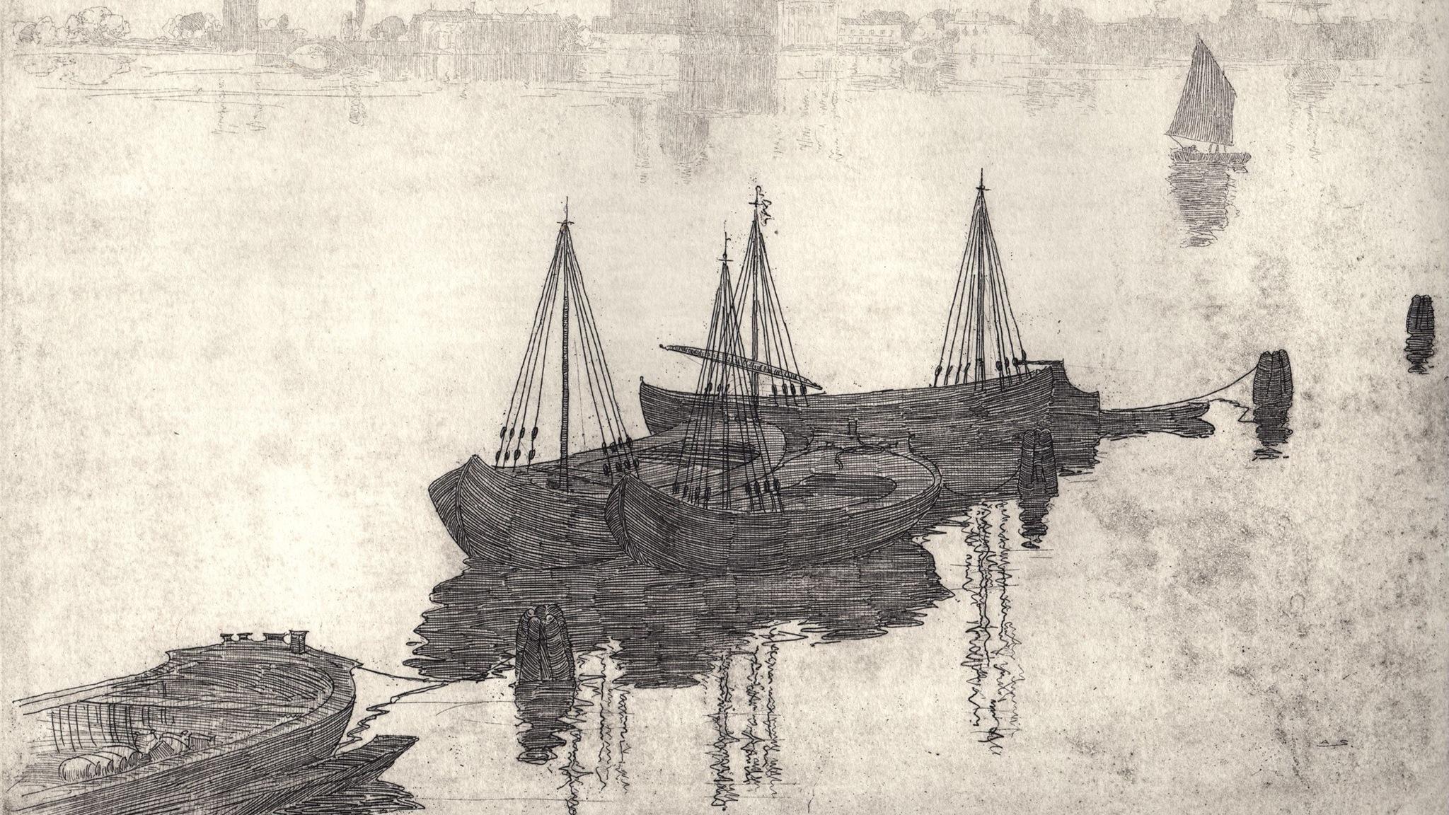 Sir Arthur Streeton etching printed by Theo Mantalvanos 2017