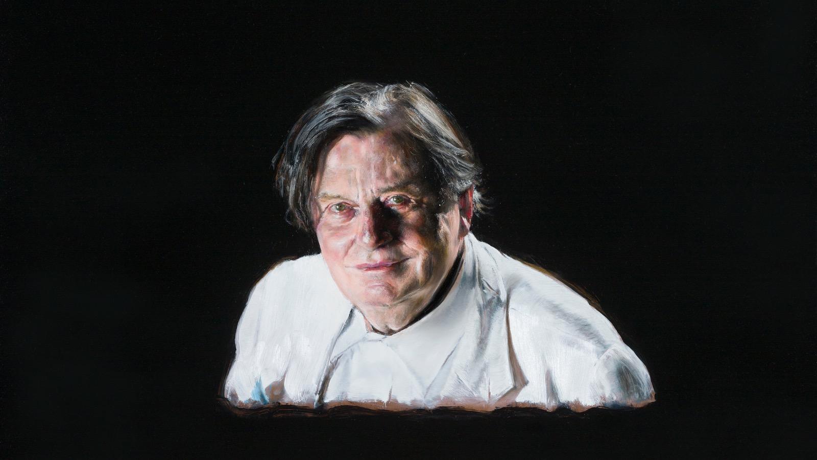 2016 Archibald Prize winner, Louise Hearman 'Barry' oil on masonite