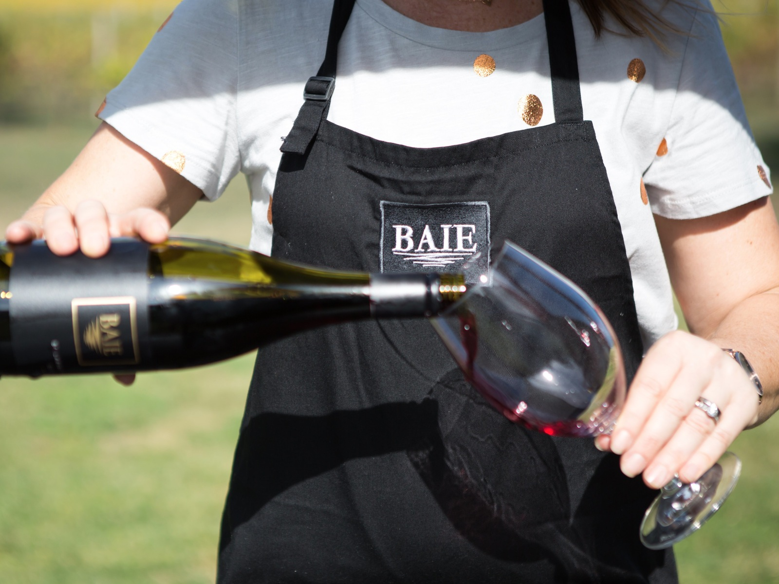 BAIE Wines Pop up wine bar