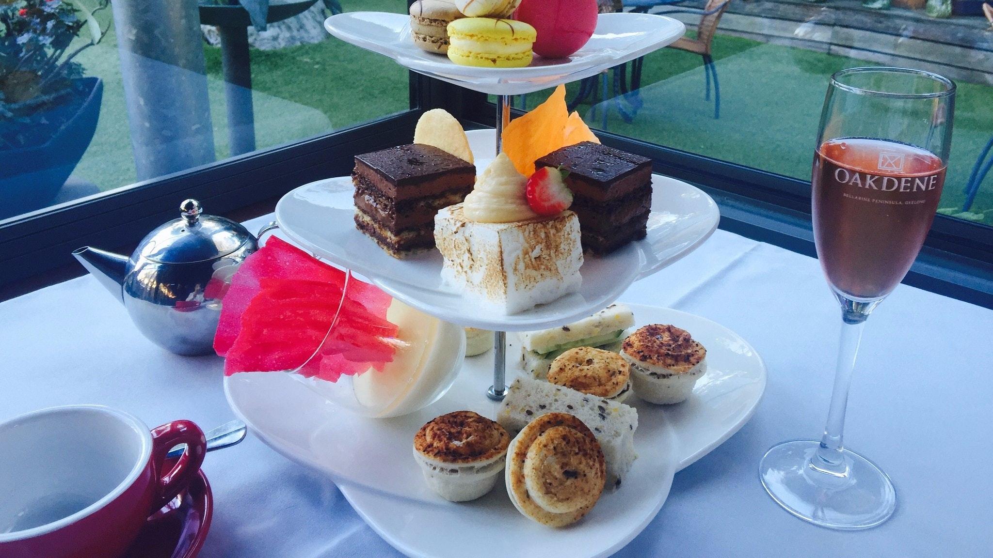 HIgh Tea on the Terrace at Oakdene