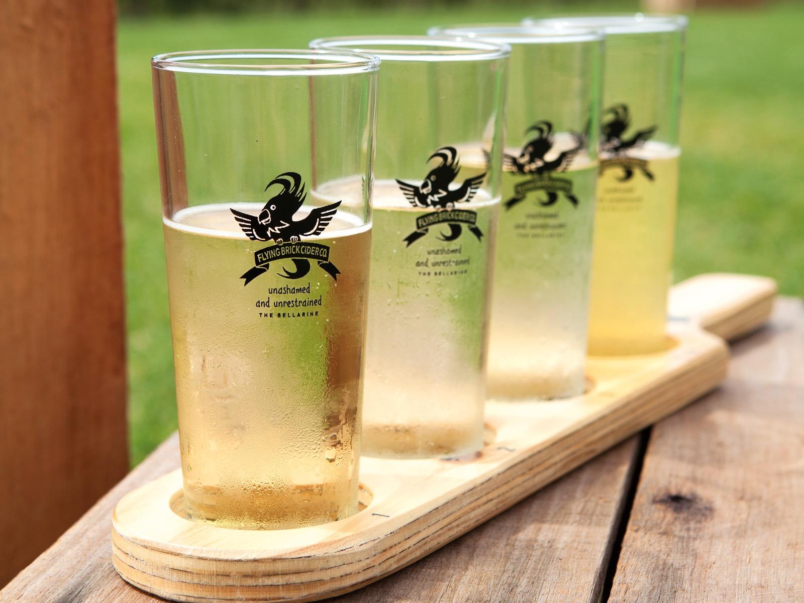 World Cider Day at Flying Brick Cider Co