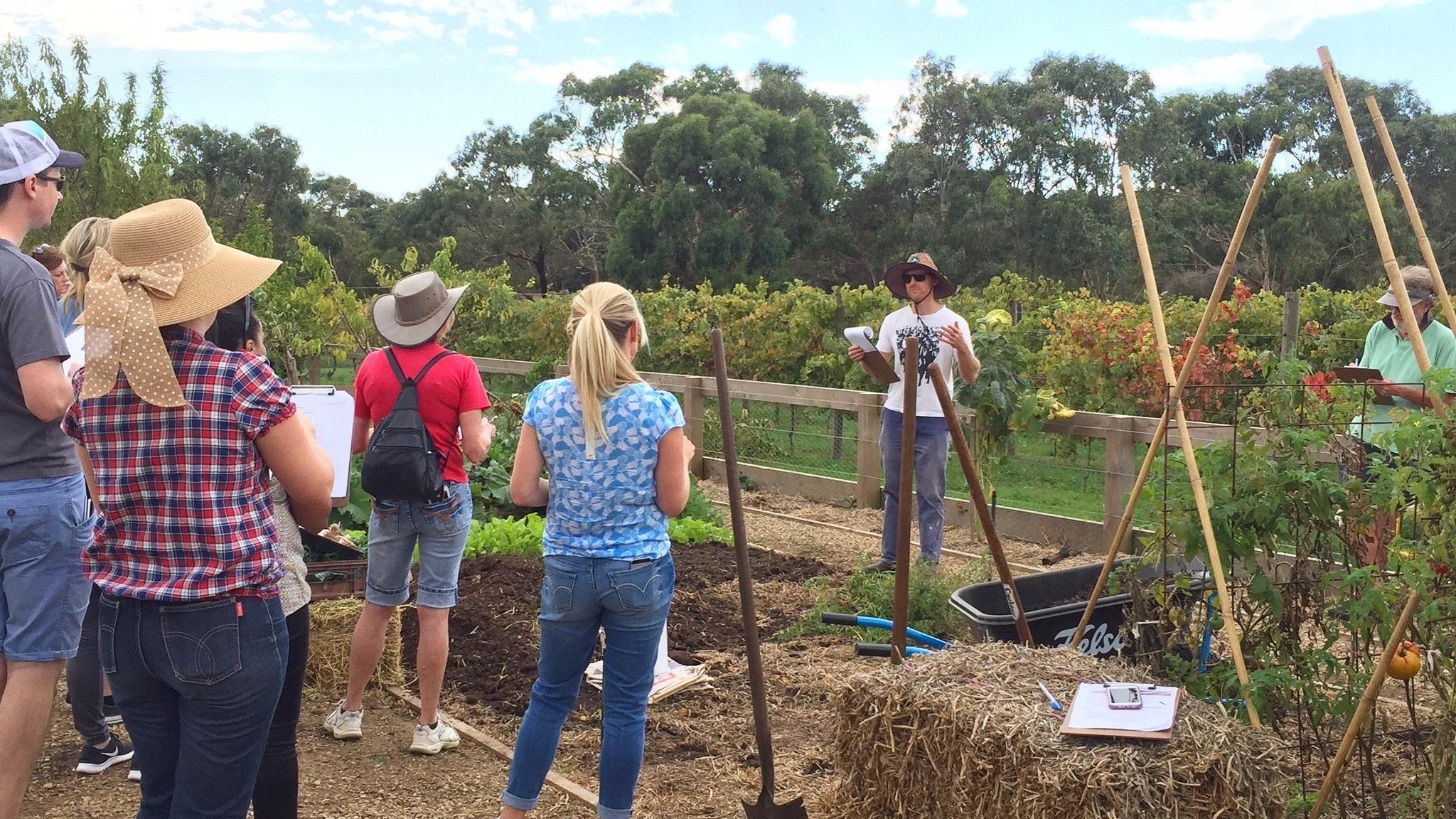 Gardening Workshop at Basils Farm